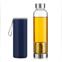 garrafa infusora com capa