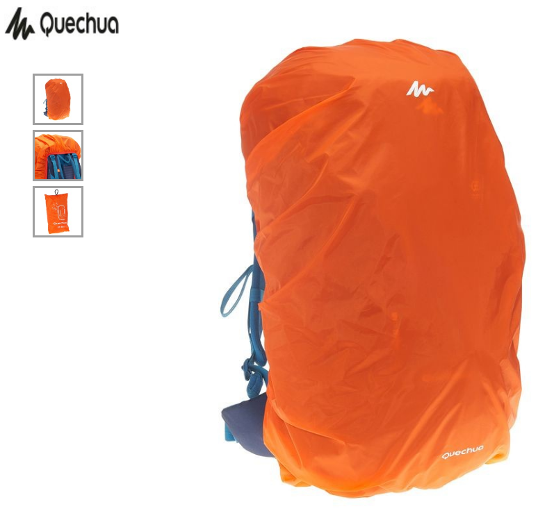 mochila capa de chuva